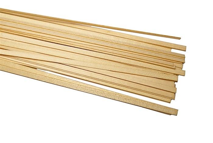 Рейки клена толщиной 0,5мм (50шт)  - фото 4625