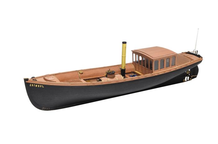 Императорский паровой катер Дагмар  1:48 - фото 5056