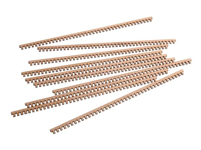 Рустерные решетки отверстие 1мм (10шт) - фото 5159