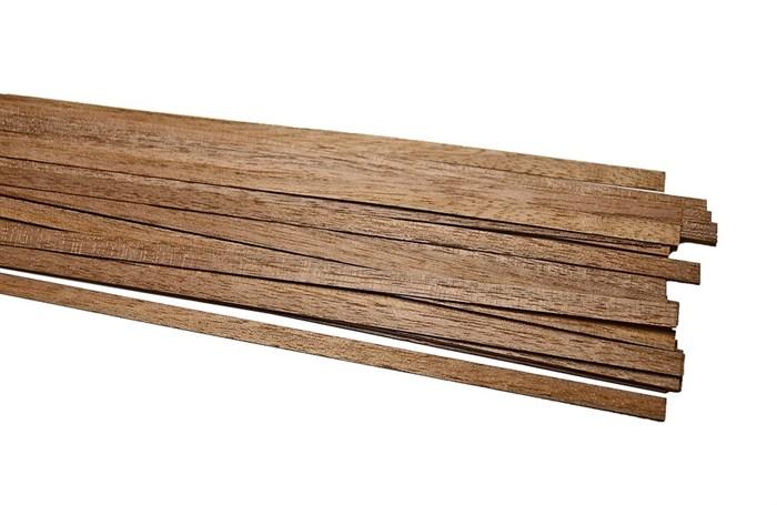 Рейки ореха толщиной 1мм (50шт) - фото 5280