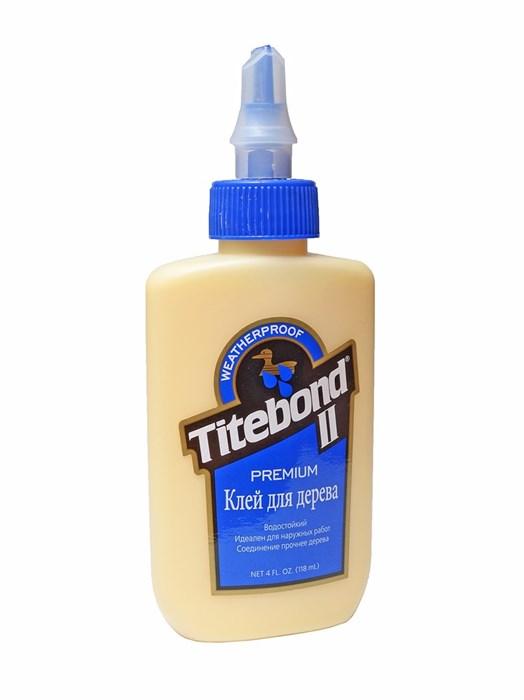 Клей для дерева Titebond II 118мл - фото 4704