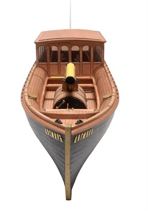 Императорский паровой катер Дагмар (Груша)  1:48 - фото 5063