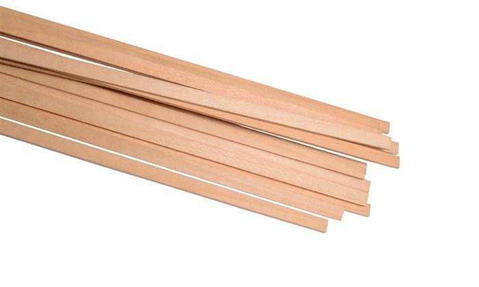 Рейки липы 1,5x5мм (50шт) - фото 5278