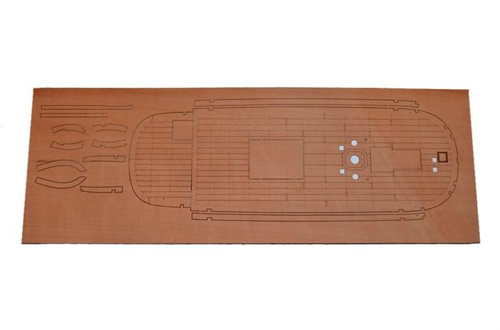 Палуба из груши для Бота Св.Гавриил - фото 5478