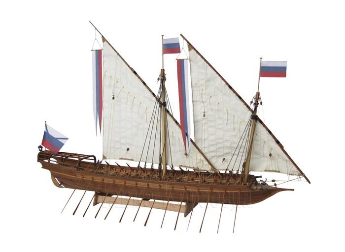Азовская скампавея 1:48 - фото 5528