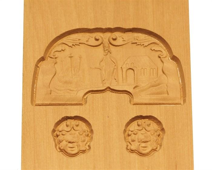 Кормовой декор на «Ботик Петра I»  1:24  Груша - фото 5960