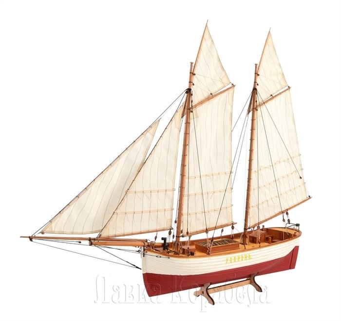 Императорская яхта бот Увалень 1:48 (Груша) - фото 6023