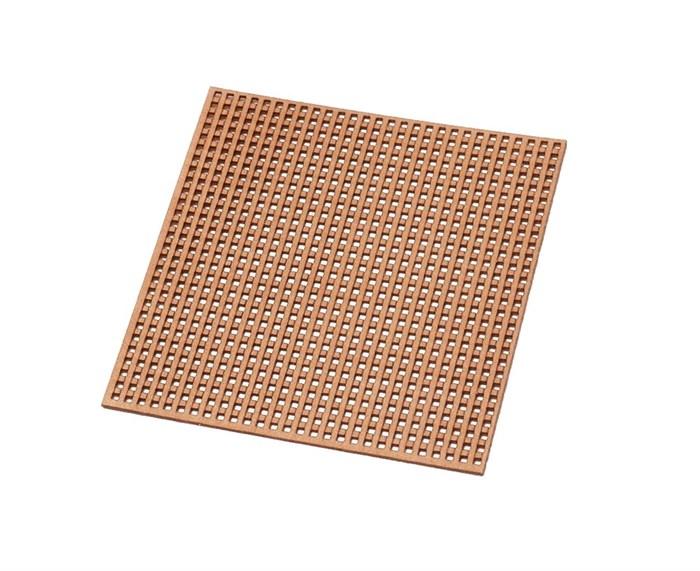 Рустерная решетка отверстие 0.6мм - фото 6438