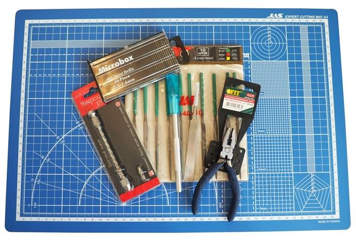 Стартовый набор инструмента для сборки корабля - фото 6465