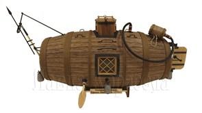 Потаенное судно Ефима Никонова 1721г. 1:35