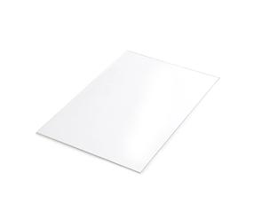 Прозрачный пластик 18x12мм, ПЭТ 0.2мм 5шт