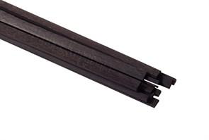 Рейки черного граба 2х1мм 2шт