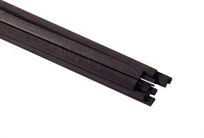 Рейки черного граба 3х1мм 2шт