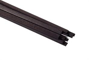 Рейки черного граба 4х1мм 2шт