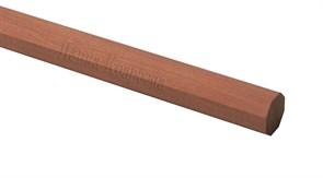 Рейка груша темная восмигранная 4x4мм
